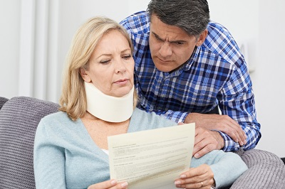 average settlement payout for whiplash injury caused by automobile accident