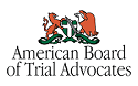 American Board of Trial Advocates Logo for personal injury attorney in Fort Atkinson WI